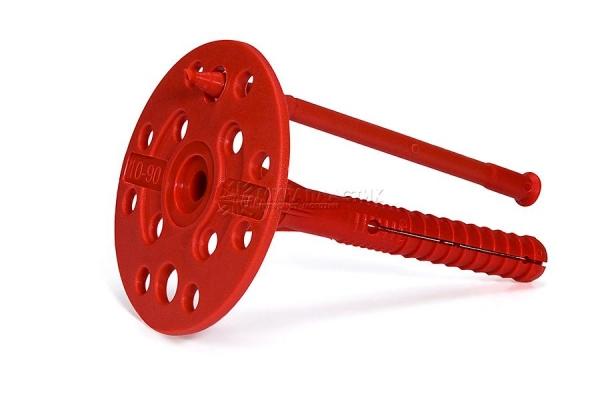 дюбель для теплоизоляции с пластиковым гвоздем