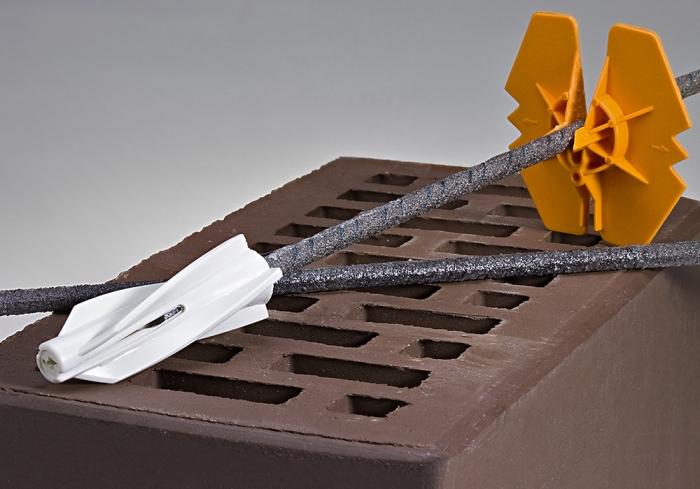Гибкие связи для кирпича, бетона и газобетона: ассортимент, подбор, монтаж